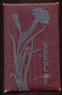 1914 National Security Fire Insurance Co. Advertising Needle Book