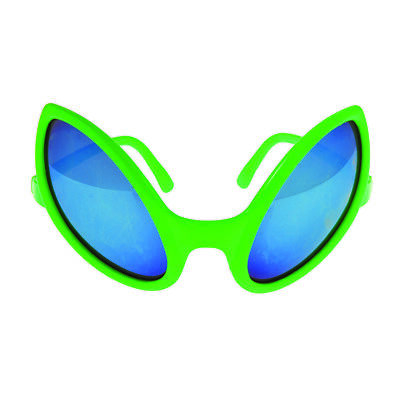 US Toy Goofy Fun Alien Costume Party Novelty Glasses, Green, One-Size 5.5""