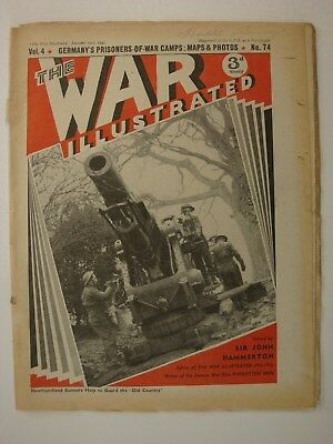Sudan Athens Greece Libya Saphis The War Illustrated #70 Anti-Aircraft Battery
