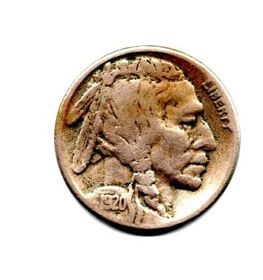 1920-S Buffalo Nickel Super Nice Condition Great Detail #11   Reduced