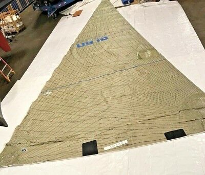 Headsail By UK Sailmakers in Good Condition 52.4' Luff