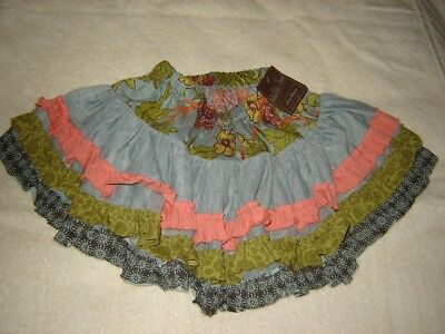 Matilda Jane size 2 skirt new with tag girl nwt pretty floral design