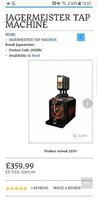 jagermeister chilling machine