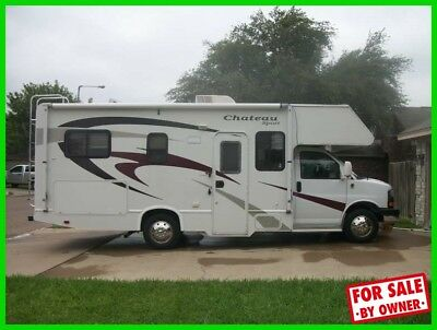 2008 Four Winds Chateau 23' Class C V8 Gasoline Sleeps 6 Generator Backup Camera