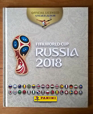 Album Panini Coupe du Monde Russie 2018 World Cup Russia French White Hardcover