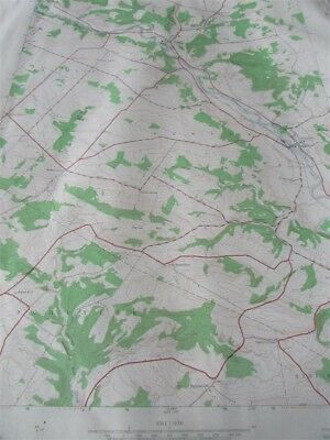 """22/"""" X 27/"""" New York State Quadrangle Topographical Map of West Winfield 1943 M-11"""