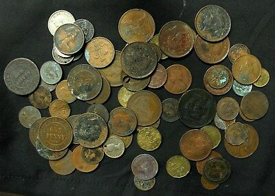 Lot Collection 1800's 1900's Great Britain Canada Australia etc Commonwealth mos
