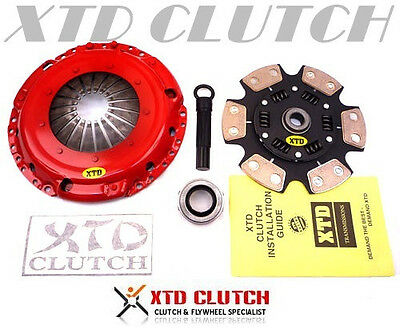 XTD STAGE 3 SPRUNG CLUTCH KIT VW GOLF PASSAT JETTA CORRADO GTi 2.8L VR6 5spd)