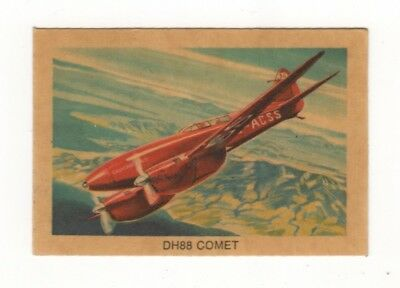 Tip Top Bread - Great Sunblest Air Race Cards.DH88 Comet