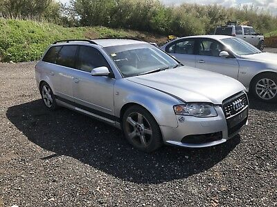 Audi A4 B7 Avant S Line For Breaking 2 0tdi Blb Estate Spares Parts Silver Ly7w
