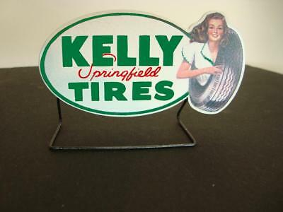 Crafted 1-24 OR 1-18 Scale Springfield Tire Sign Roof or Road Station Display