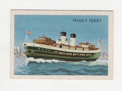 "Australian Transport Trade card: Shipping - Manly Ferry ""South Steyne"""