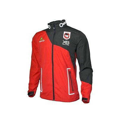 St George Illawarra Dragons NRL 2018 X Blades Wet Weather Jacket Size S-5XL!