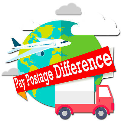 Pay Postage Difference For Express Delivery