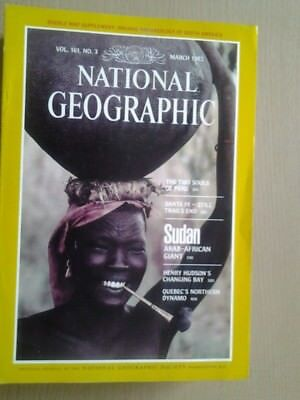 National Geographic Magazine March 1982
