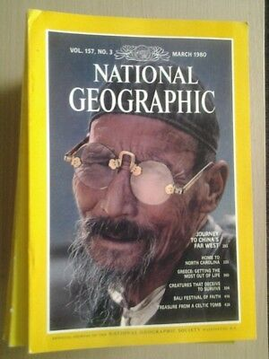 National Geographic Magazine March 1980