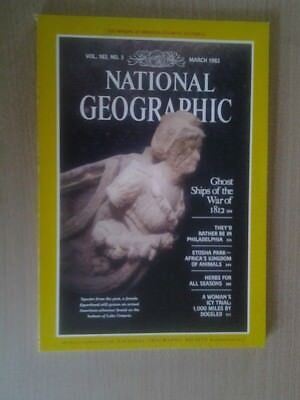 National Geographic Magazine March 1983