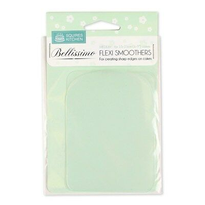 Squires Kitchen Bellissimo Smoother - Medium, Icing, Cake making, Cake shaping