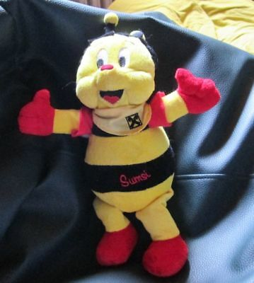 Sumsi Bee Plush Toy Raiffeisen Bank Wien 14""