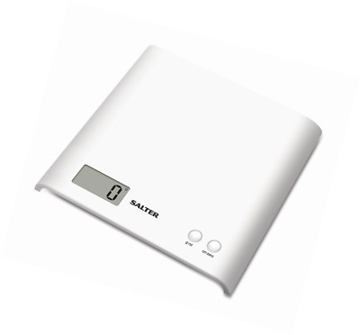 Salter Arc Digital Kitchen Scales – Electronic Food Weighing, Slim Design Cookin