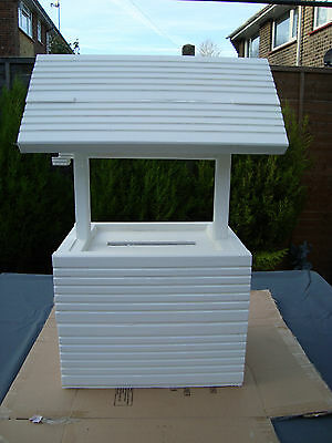 Wooden wedding wishing well post box for sale free postage in uk