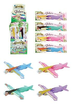Unicorn Flying Gliders, Party Loot Bag Fillers, Kids Toy Planes 3, 6, 12, 24