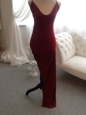 Burgundy cocktail/ evening dress, Brand new with tags