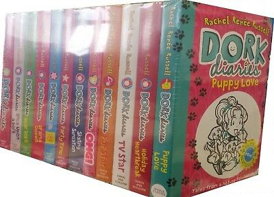 Dork Diaries Collection Set [12 Books] by Rachel Renee Russell [2017] ✔NEW✔