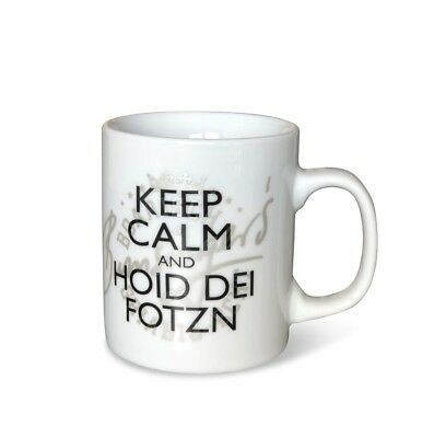 Becher Tasse Mit Spruch Keep Calm And Hoid Dei Fotzn Eur 14 95