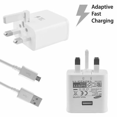 SAMSUNG ADAPTIVE FAST CHARGER WALL PLUG CHARGER for Galaxy S7 S6 EDGE S5 NOTE 4