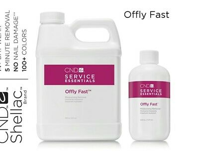 *CND  Offly Fast / Nourishing Remover 946 ml Grande*