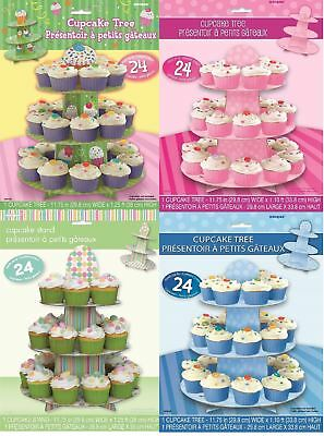 3 Tier Cup Cake Tree Stand Baby Shower Display Decoration Dessert