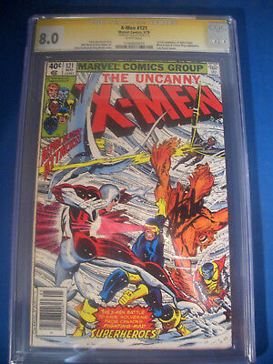 STAN LEE Signed * 1979 X-MEN #121 * Marvel Comics CGC 8.0 VF SS Signature Series