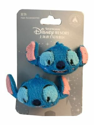 Disney Parks Exclusive Lilo & Stitch Hair Clips Accessories Pack Of 2 Nwt New