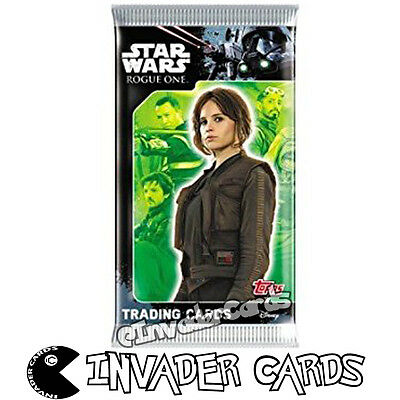 Disney Star Wars Rogue One Topps Trading Cards Booster Pack Packet New Sealed