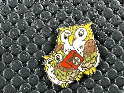 pins pin BADGE ANIMAUX CHOUETTE HIBOUX