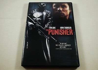 The Punisher DVD with Limited Time Mini Comic Book & Bonus SAW Preview Disc