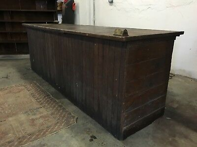 Antique Vintage country General store counter top 1900's original