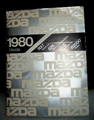 VINTAGE - 1980 Mazda Dealer Introduction Package with photos