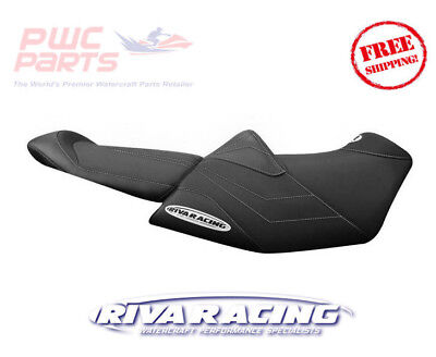 SeaDoo 2018 RXT-X 300 RIVA Racing Seat Cover Black Grey Stitch The ultimate raci