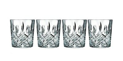 Marquis by Waterford Markham Whiskey Cocktail Double Old Fashioned Glasses 4Pcs