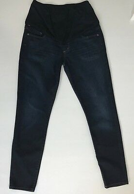 Maternity COH Citizens Of Humanity Skinny Jeans Size 30 Blue Stretch Belly Panel