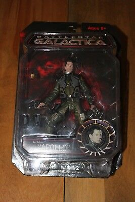 "Battlestar Galactica Lee Adama ""APOLLO""  figure (NIP)"