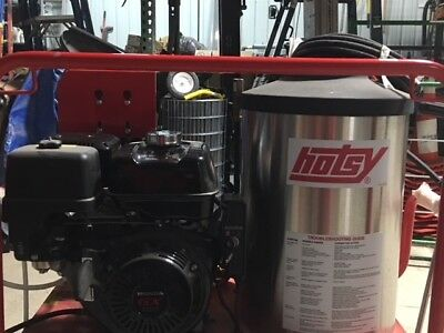 Hotsy 1075SSE  Unit Gasoline, Diesel Hot Water Pressure Washer.