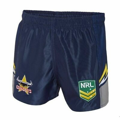 North Queensland Cowboys NRL 2018 Home Supporters Shorts Adults & Kids Sizes NEW