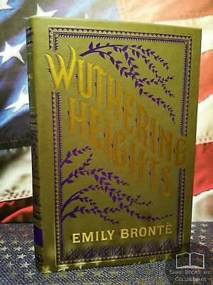 NEW Wuthering Heights by Emily Brontë Bonded Leather Softcover Collectible Ed