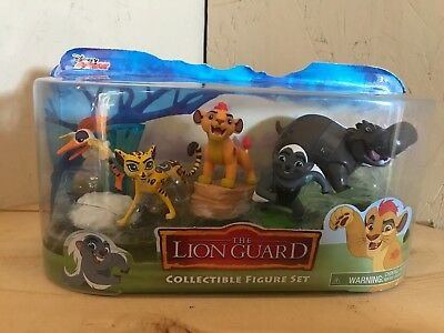 "Disney Juniors ""The lion guard collectible 5 piece set"". Brand New in Box.  FS."