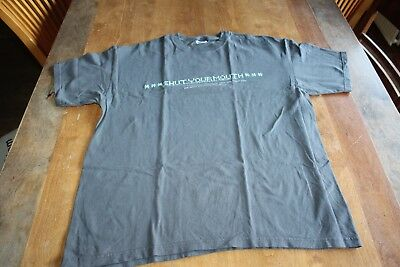 Garbage -  Promotional Shut Your Mouth T-Shirt Size XL