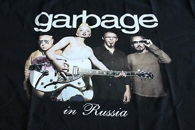 Garbage - In Russia promotional T-shirt size XL