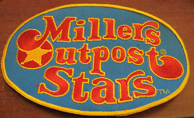 New Old Stock Large Embroidered Millers Outpost Stars Patch